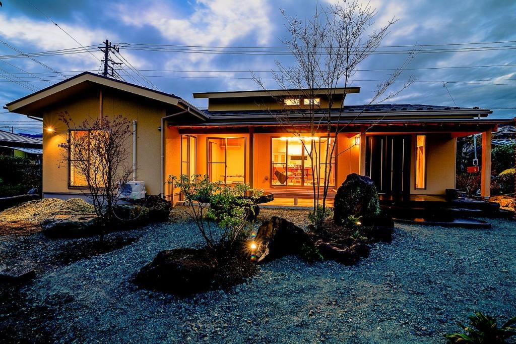 本格的な和風平屋住宅